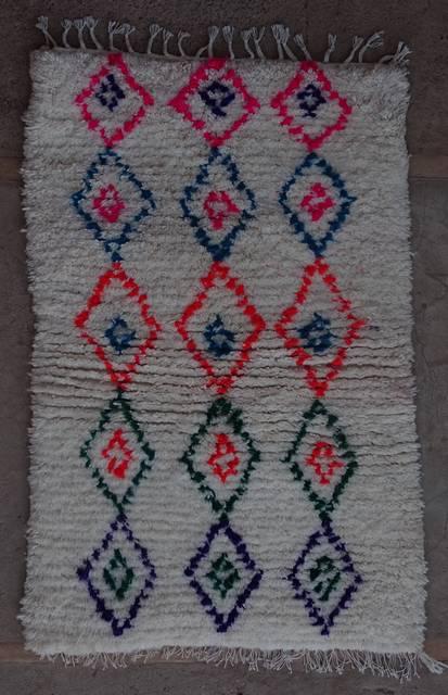 Villamatot – Beni Ouarain Azilal and Ourika moroccan rugs AS44004