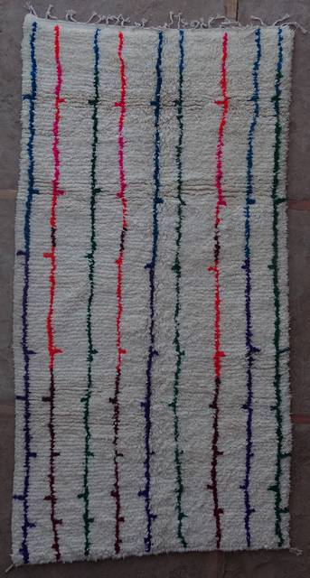 WOOL Rugs - BENI OURAIN Azilal and Ourika moroccan rugs AS44007