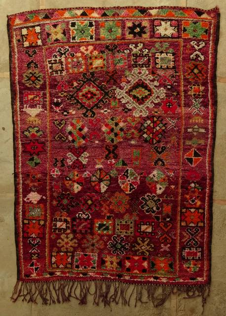 Villamatot – Beni Ouarain  Beni Ourain and Middle Atlas (antique) moroccan rugs VBJ44028 BOUJAAD