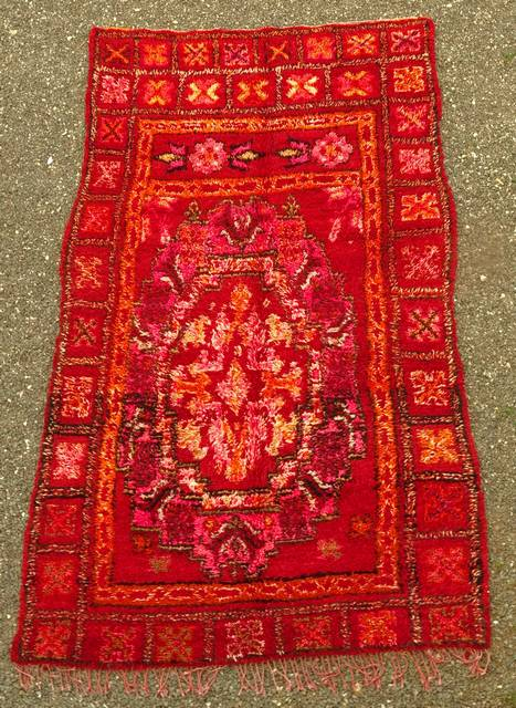 WOOL Rugs - BENI OURAIN Beni Ourain and Middle Atlas Antique moroccan rugs MA44032 Marmoucha