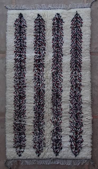 Villamatot – Beni Ouarain Azilal and Ourika moroccan rugs AS44012