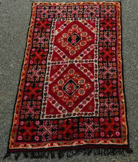 WOOL Rugs - BENI OURAIN Beni Ourain and Middle Atlas Antique moroccan rugs GHBJ44034