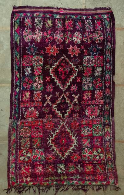 Villamatot – Beni Ouarain  Beni Ourain and Middle Atlas (antique) moroccan rugs VBJ44036