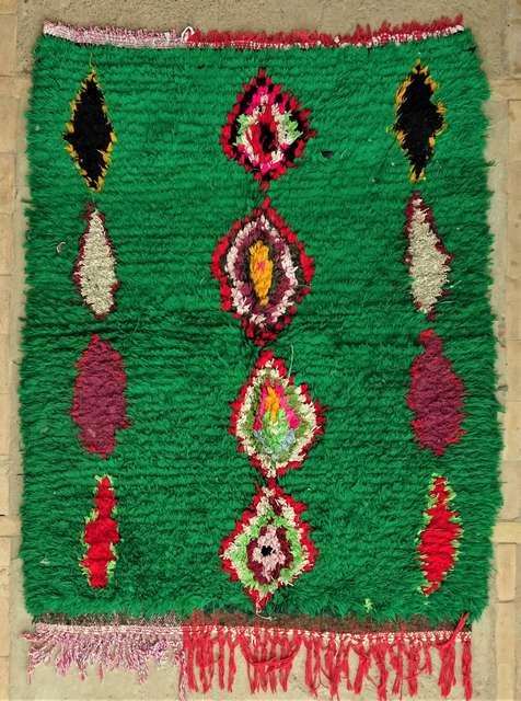Archive-Sold Boucherouite moroccan rugs TT44067
