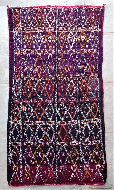 BENI OURAIN-WOOL RUGS Beni Ourain Large sizes ref : GHBJ44077