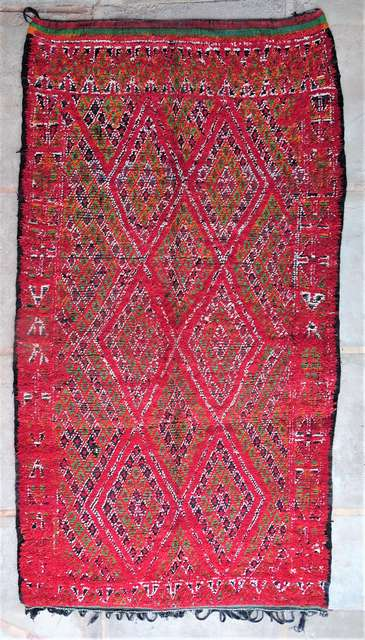 WOOL Rugs - BENI OURAIN Beni Ourain and Middle Atlas Antique moroccan rugs GHBJ44081