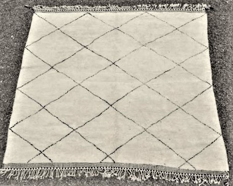 Archive-Sold Beni Ouarain moroccan rugs BO44088/MA RESERVED