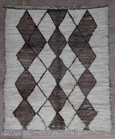 Villamatot – Beni Ouarain  Beni Ourain and Middle Atlas (antique) moroccan rugs BOA45099