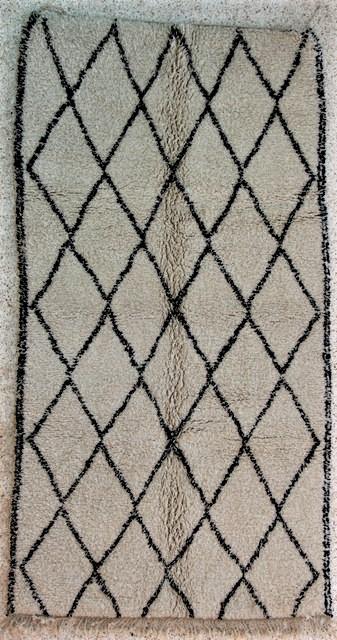 WOOL Rugs - BENI OURAIN Beni Ourain moroccan rugs BO24327