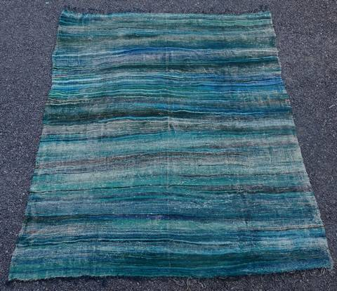 BOUCHEROUITE-KILIMS Kilims cotton and recycled textiles moroccan rugs LKC45110  kilim