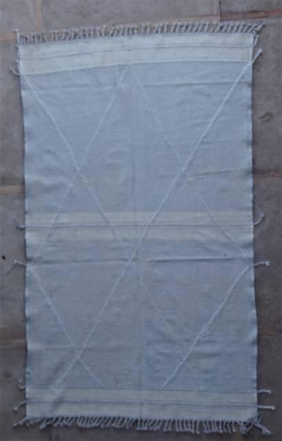 WOOL Rugs - BENI OURAIN Zanafi Kilim moroccan rugs ZA45115