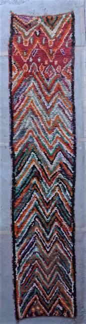 Boucherouite Corridor rugs moroccan rugs VABJ45116