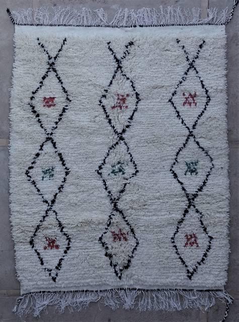 Villamatot – Beni Ouarain Azilal and Ourika moroccan rugs AS45129