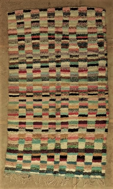 Boucherouite Large moroccan rugs L45065