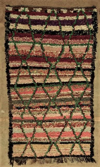 BOUCHEROUITE Boucherouite Medium moroccan rugs T45046