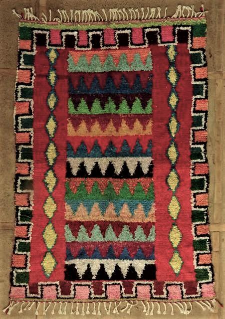 Berber rug T45056
