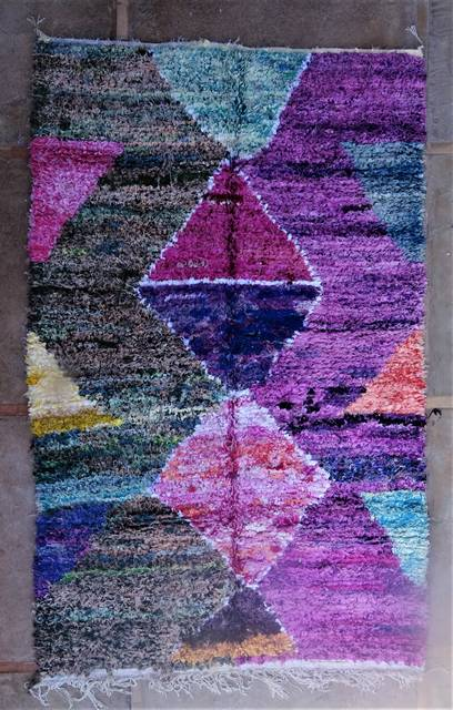Boucherouite Collector rugs moroccan rugs TC46018