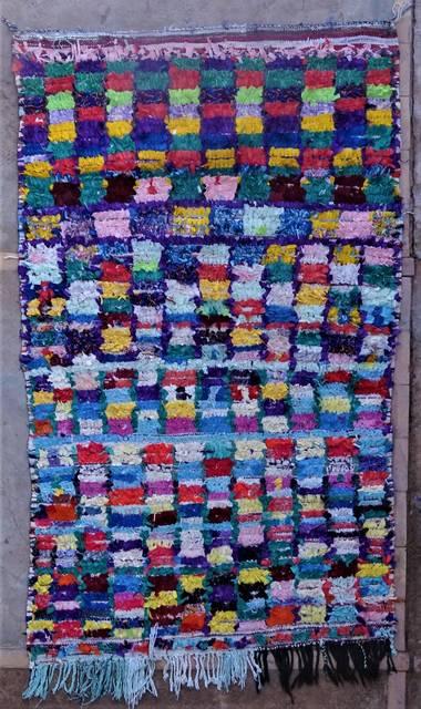 BOUCHEROUITE Boucherouite Medium moroccan rugs T46031