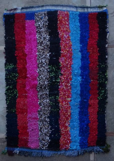BOUCHEROUITE Boucherouite Medium moroccan rugs T46042