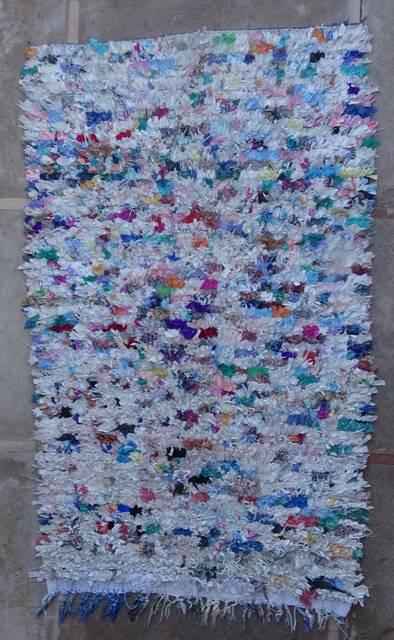 BOUCHEROUITE Boucherouite Large moroccan rugs L46048