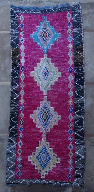 Boucherouite Large moroccan rugs L46053