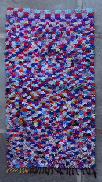 Archive-Sold Boucherouite moroccan rugs TT46060