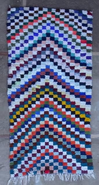 BOUCHEROUITE Boucherouite Medium moroccan rugs T46063