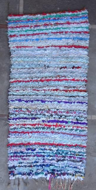 BOUCHEROUITE Boucherouite Medium moroccan rugs T46065