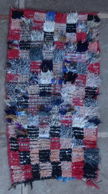 BOUCHEROUITE Boucherouite Small moroccan rugs TT46073