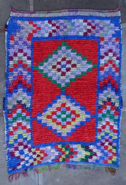 BOUCHEROUITE Boucherouite Medium moroccan rugs T46079