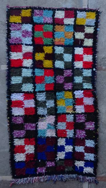BOUCHEROUITE Boucherouite Small moroccan rugs TT46080