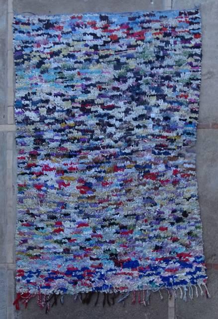 BOUCHEROUITE Boucherouite Medium moroccan rugs T46086