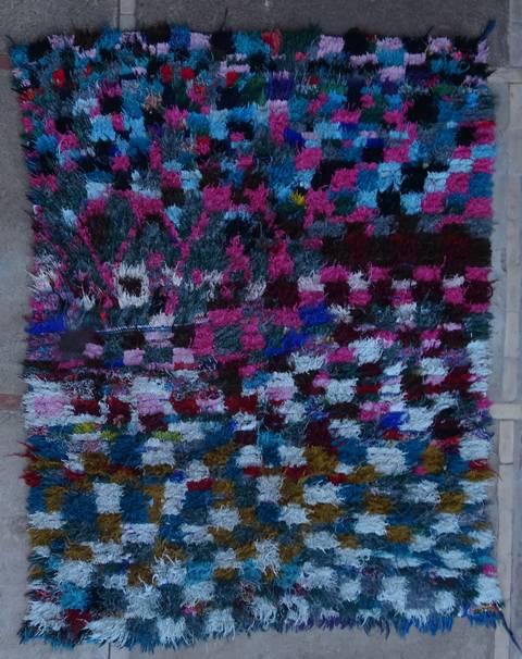 BOUCHEROUITE Boucherouite Medium moroccan rugs T46087