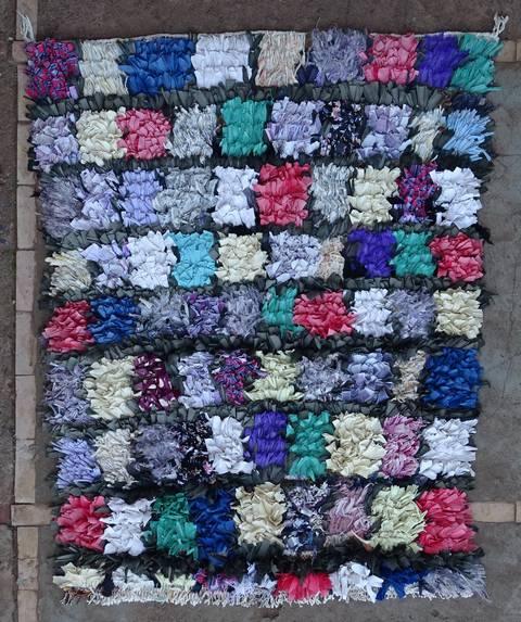 BOUCHEROUITE Boucherouite Small moroccan rugs TT46100