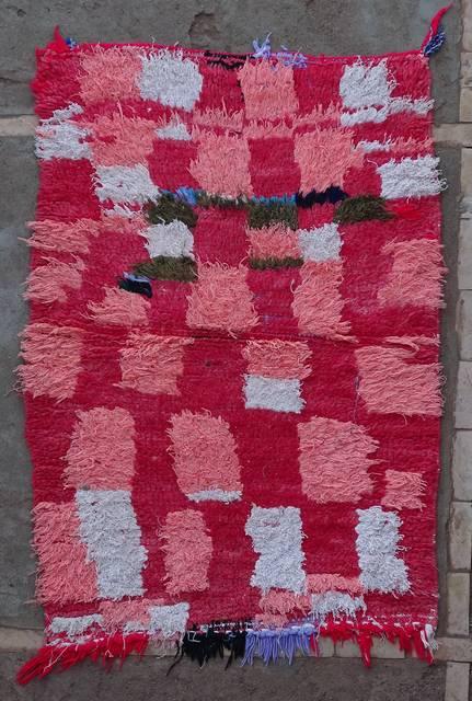 Archive-Sold Boucherouite moroccan rugs TT46103