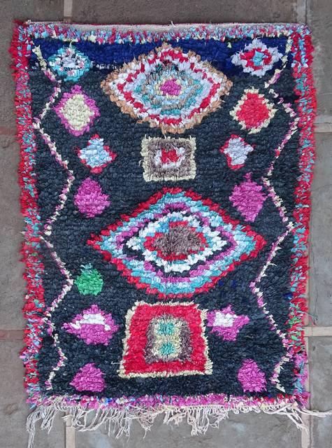 moroccan rugs T46109