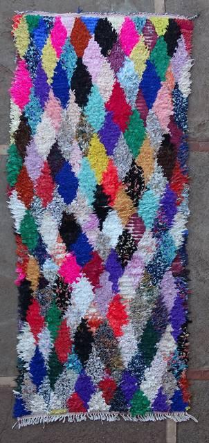 BOUCHEROUITE Boucherouite Medium moroccan rugs T46114
