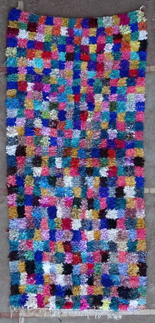 Boucherouite Medium moroccan rugs T46119