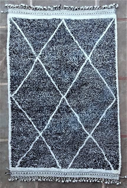 BENI OURAIN-WOOL RUGS Beni Ourain moroccan rugs BO46140/MA