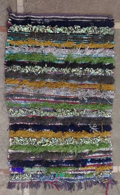 Boucherouite Small moroccan rugs TT46163 reserved