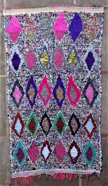 Boucherouite Large moroccan rugs TC46184