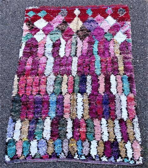 BOUCHEROUITE Boucherouite Large moroccan rugs TC46217