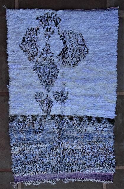 BOUCHEROUITE-KILIMS Boucherouite Grosse Berber Teppich TC46221