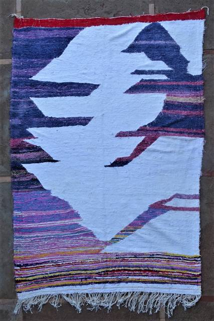 Boucherouite Kilims moroccan rugs KC46233