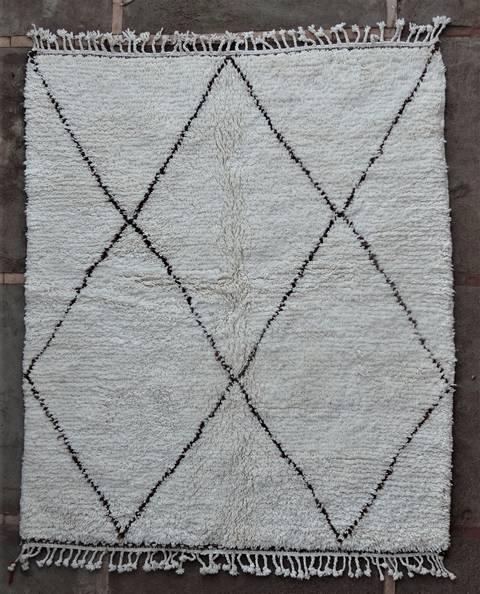Referenssit Beni Ouarain moroccan rugs BO46236/MA SUR MESURE