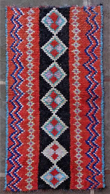 BOUCHEROUITE Boucherouite Medium moroccan rugs T46241