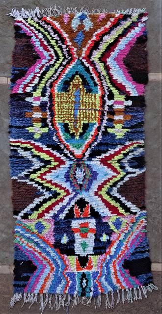 Archive-Sold Boucherouite moroccan rugs TT46247
