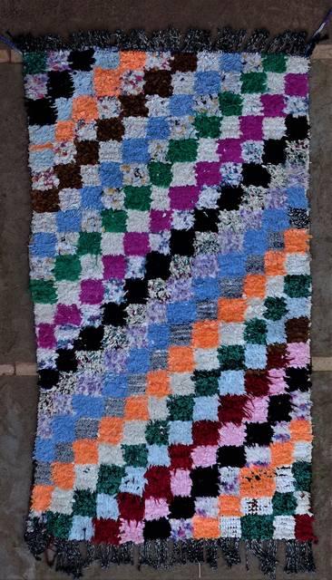 BOUCHEROUITE Boucherouite Medium moroccan rugs T46263