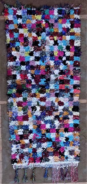 BOUCHEROUITE Boucherouite Medium moroccan rugs T46264