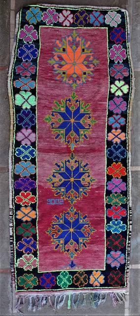Boucherouite Large moroccan rugs L46267